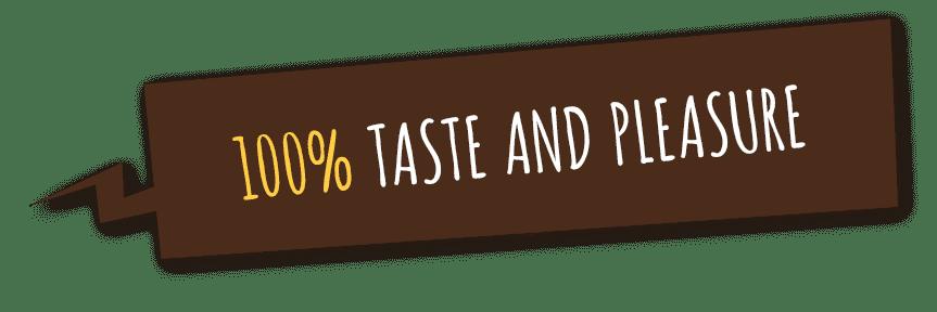 100% smaku i przyjemności